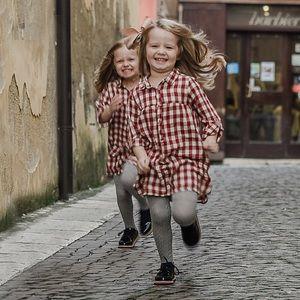 Zara Kids/Baby Girls' 3T-4T Plaid Shirt Dress